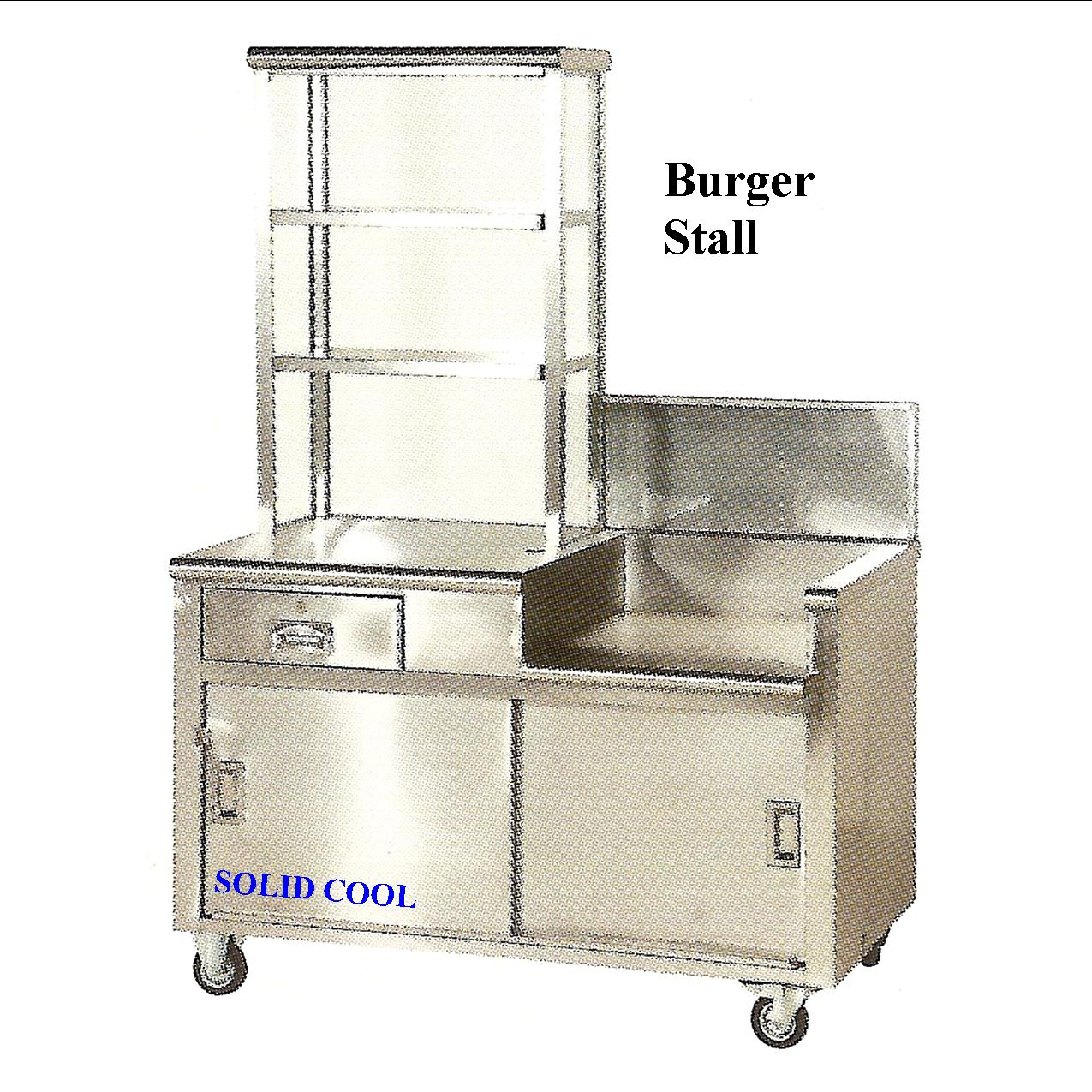 Quality Stainless Steel Kitchen Equipments Stall Rental